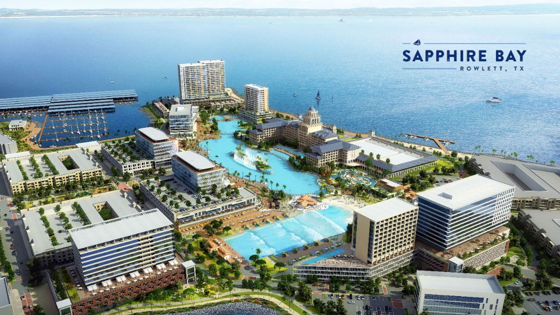Image result for Rowlett Lagoon at Sapphire Bay""